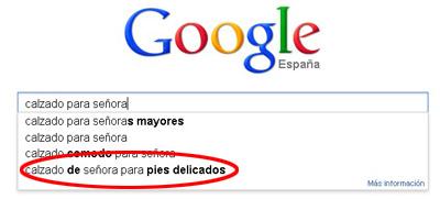 busqueda con Google